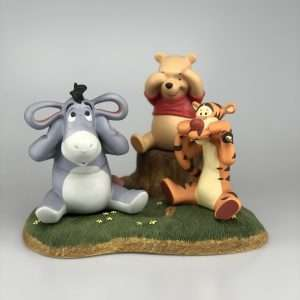 Winnie de Pooh, Eeyore en Teigetje Horen, Zien en Zwijgen