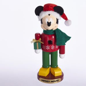 Notenkraker / Nutcracker Mickey Mouse met Cadeau