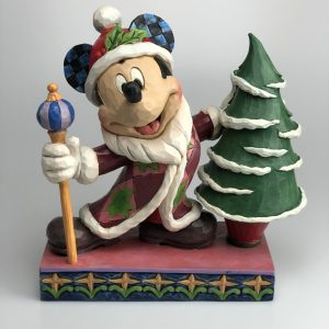 Jim Shore Traditions Mickey Mouse Kerst