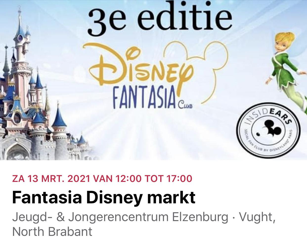 Disney Fantasia Markt 3e Editie