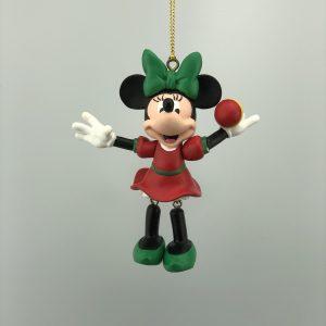 Kerst Ornament Kerstbal Minnie Beweegbaar