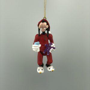 Kerst Ornament Kerstbal Goofy Beweegbaar