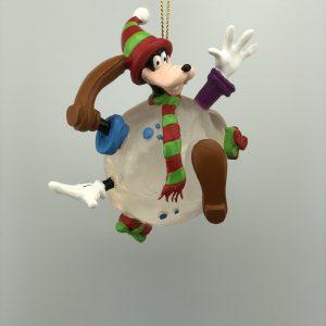 Kerst Ornament Kerstbal Goofy in de sneeuwbal