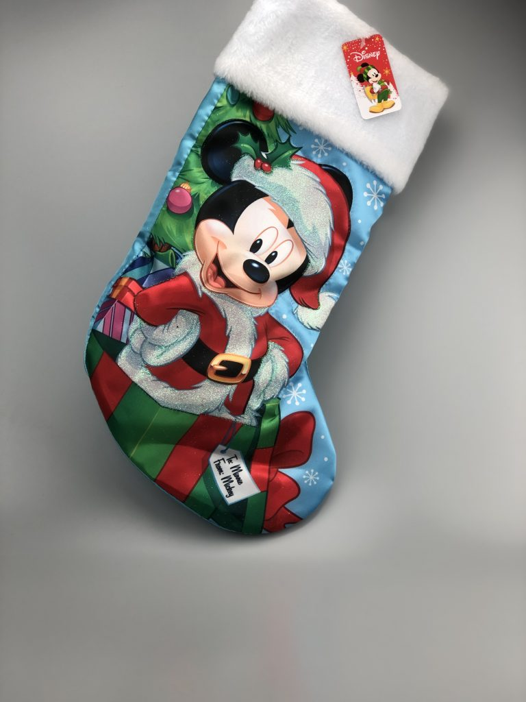 Mickey Mouse Kerst Sok