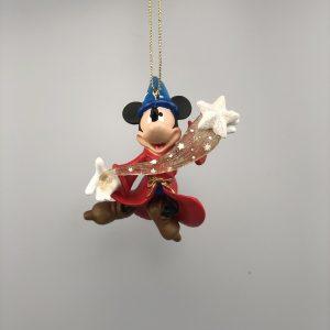 Disney Kerst Ornament Kerstbal Mickey Mouse Fantasia met Banner