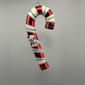 Kerst Ornament Kerstbal Zuurstok 101 Dalmatiërs Blauw