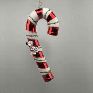 Kerst Ornament Kerstbal Zuurstok 101 Dalmatiërs Paars
