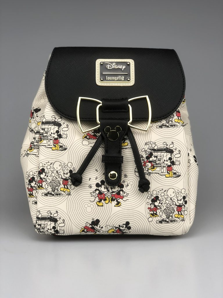 Loungefly Mickey bow Hardware Backpack / Rugtas