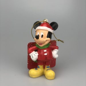 Mickey Kerst Ornament / Kerst hanger Kerstbal,,Kurt S Adler,,Hand Beschilderd