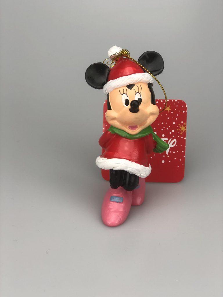 Minnie Kerst Ornament / Kerst hanger Kurt S Adler Hand Beschilderd