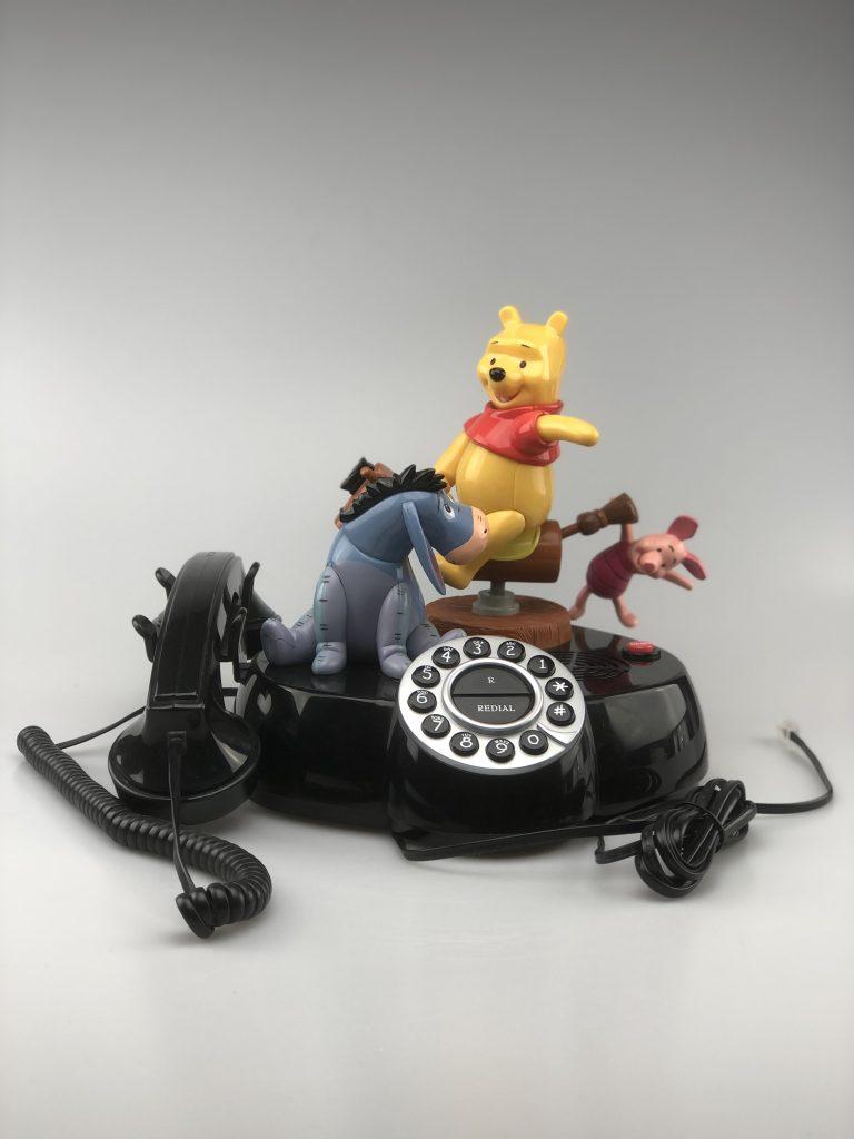Winnie de Pooh Telefoon met geluid en bewegende beelden