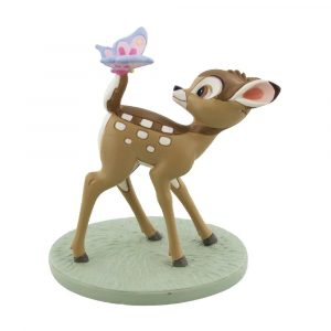 DISNEY MAGICAL MOMENTS BEELDJE - BAMBI & BUTTERFLY