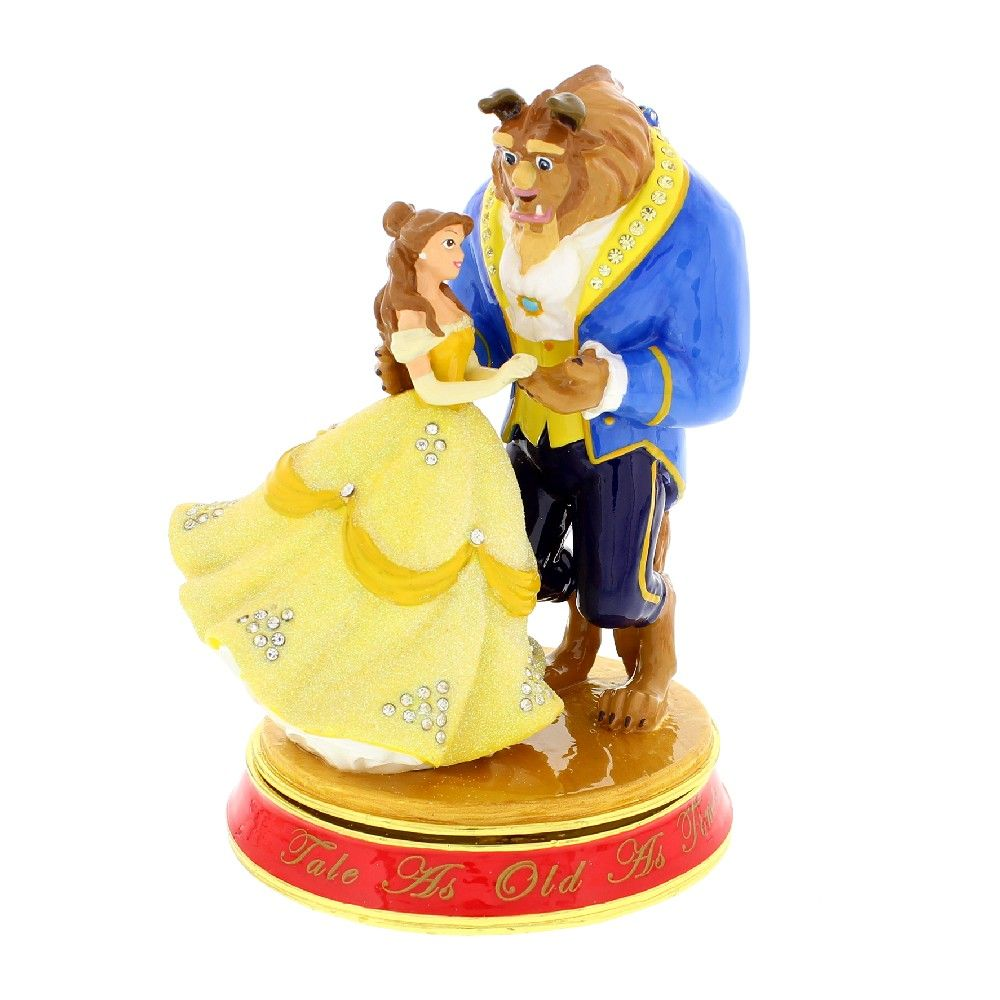 DISNEY CLASSIC TRINKET BOX Snuisterij doosje- BEAUTY & THE BEAST