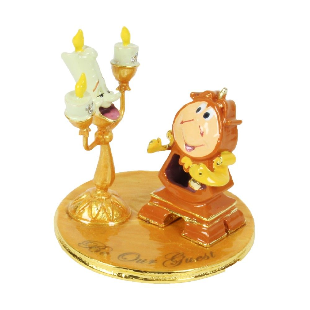 DISNEY CLASSIC - ORNAMENT VAN LUMIERE EN COGSWORTH