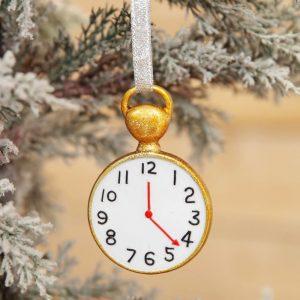 DISNEY ALICE IN WONDERLAND ZAKHORLOGE BOOMDECORATIE Kerst Hanger kerstbal Kerst Ornament
