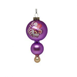 Alice in Wonderland Glas Chesire Cat Ornament Kerstbal Kurt S Adler