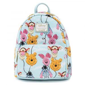 Loungefly Disney Winnie de Pooh Balloon Friends Mini Backpack / Rugzak