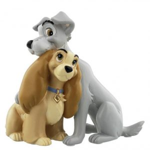 DISNEY MAGICAL MOMENTS BEELDJE - LADY AND THE TRAMP