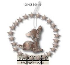 Bambi Ring of Diamonds Ornament / Kerstbal Kurt S Adler