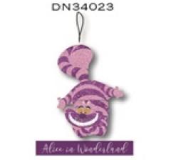 Alice in Wonderland Cheshire Cat / Kolderkat 3D Ornament / Kerstbal Kurt S Adler