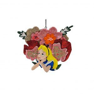 Alice in Wonderland 2D Ornament / Kerstbal Kurt S Adler