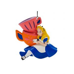Alice in Wonderland Tea Time 2D Ornament / Kerstbal Kurt S Adler
