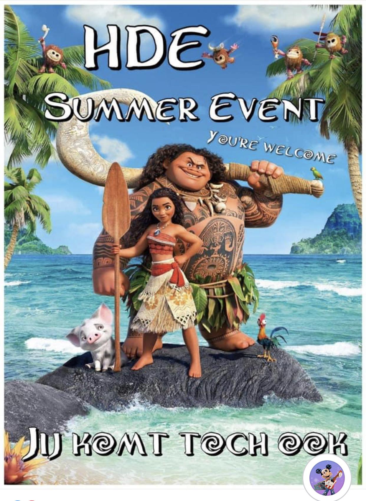 4 Juli 2021 Het Haagse Disney Event / Zomer editie / Disney Markt.