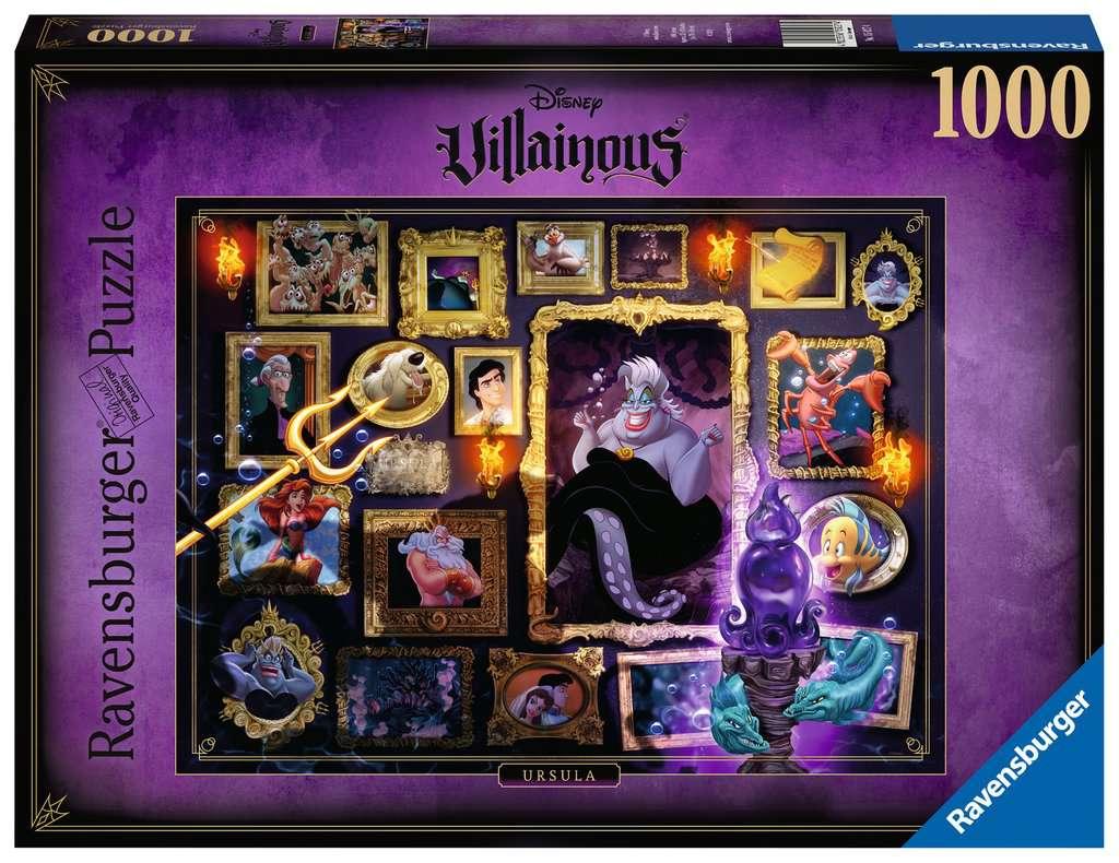 Ravensburger puzzel Villainous: Ursula - Legpuzzel - 1000 stukjes