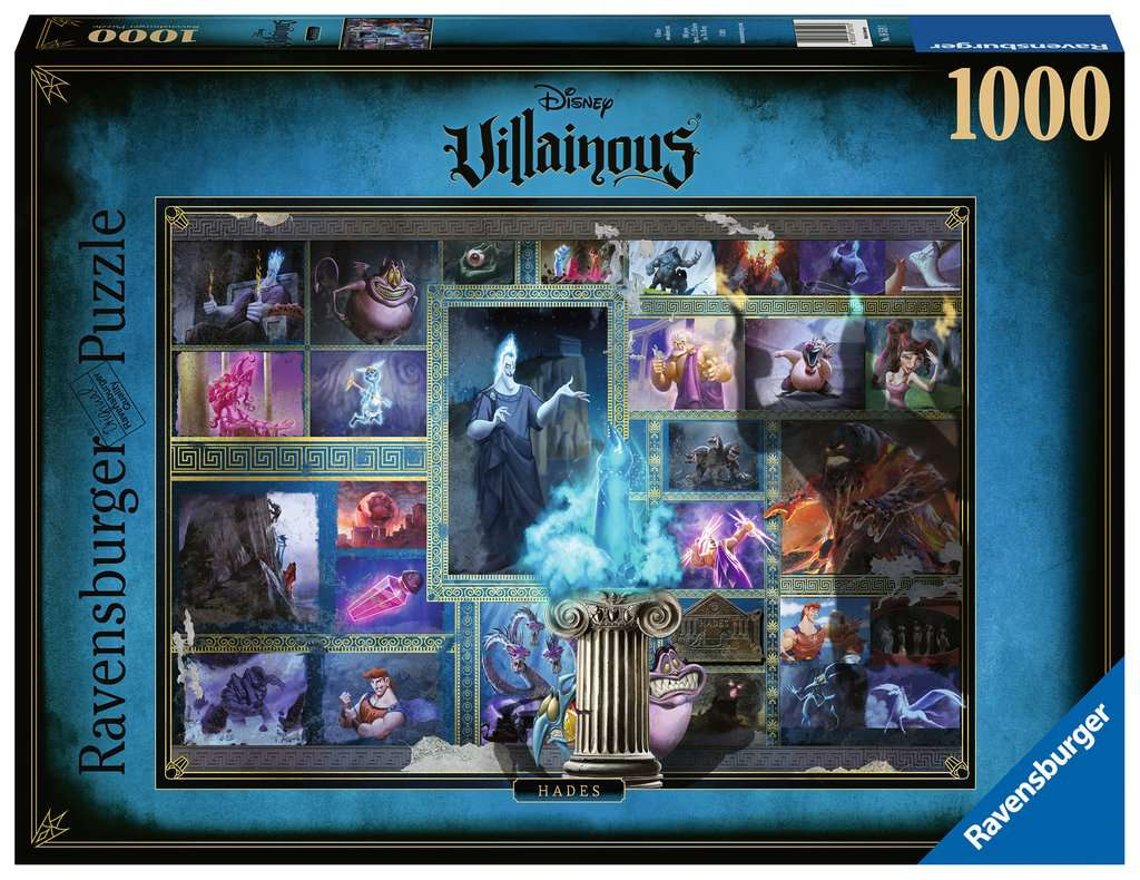 Ravensburger puzzel Villainous: Hades - Legpuzzel - 1000 stukjes