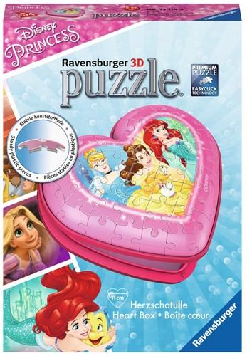 Ravensburger Hartendoosje Disney Princess – 3D puzzel – 54 stukjes