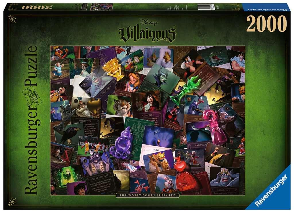 Ravensburger puzzel Villainous: All Villains - legpuzzel - 2000 stukjes