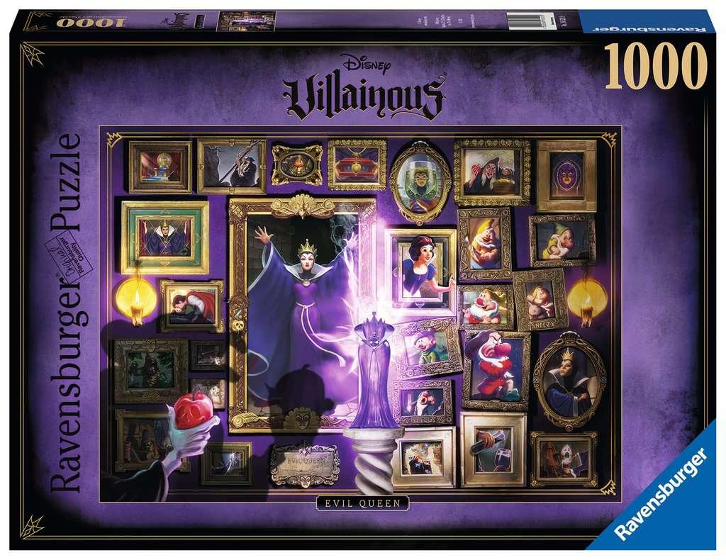 Ravensburger puzzel Villainous: Evil Queen - Legpuzzel - 1000 stukjes