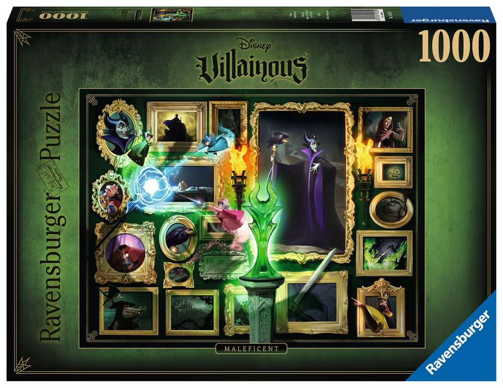 Ravensburger puzzel Villainous: Malificent - Legpuzzel - 1000 stukjes