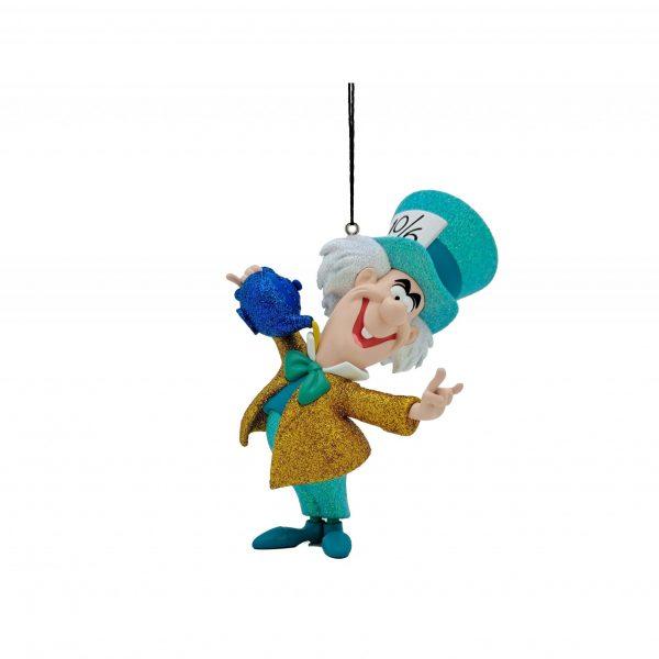 Alice in Wonderland Mad Hatter / De Gekke Hoedemaker 3D Ornament / Kerstbal Kurt S Adler