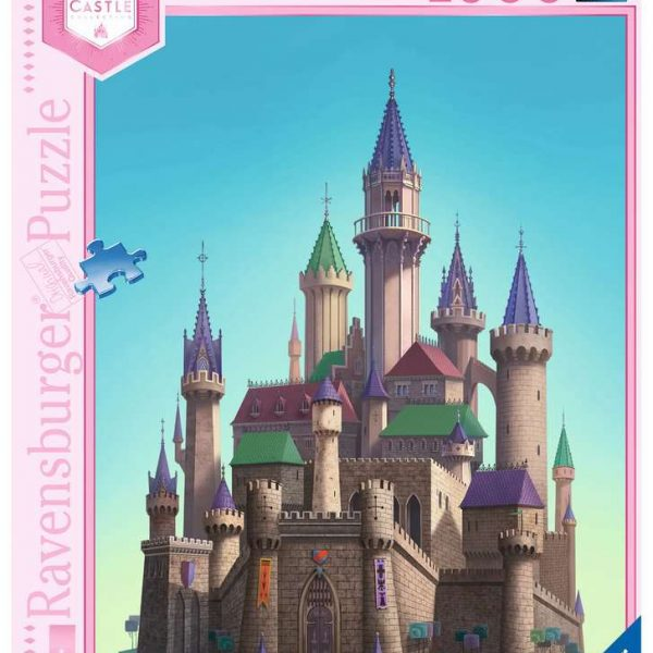 Ravensburger puzzel Disney princess Aurora's Castle - Legpuzzel - 1000 stukjes