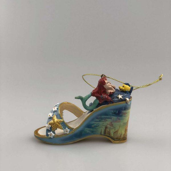 Kerst ornament Schoentje Ariel de kleine zeemeermin