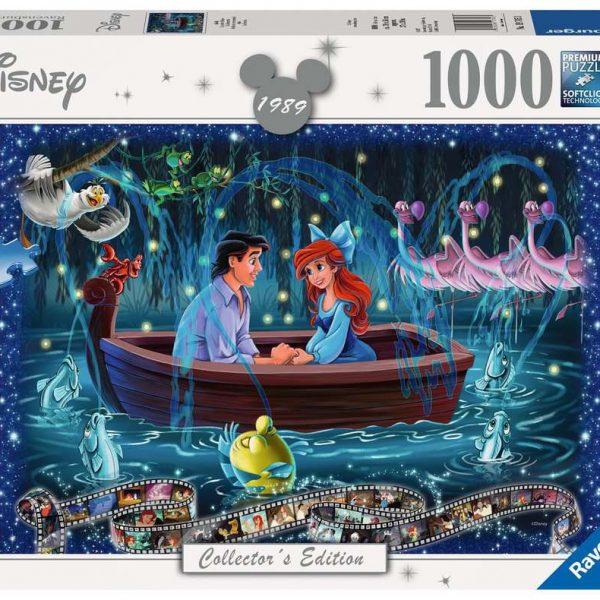 Ravensburger puzzel De kleine zeemeermin - Legpuzzel - 1000 stukjes