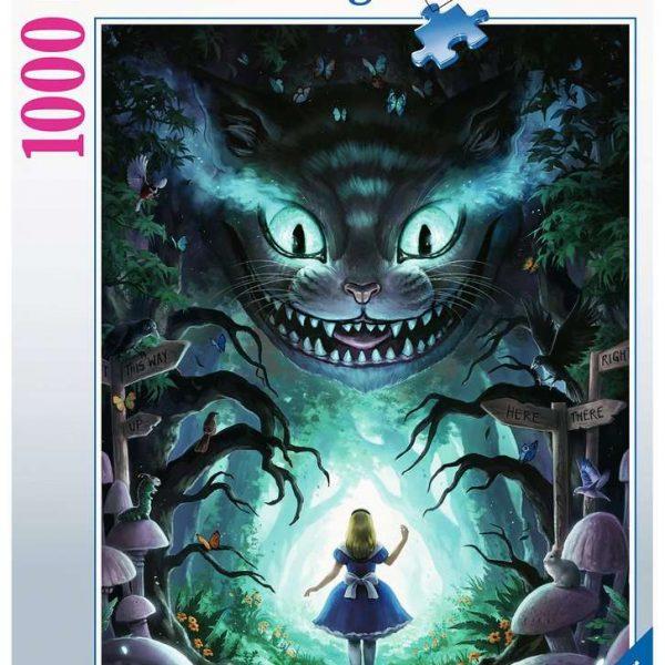Ravensburger puzzel Disney Avontuur met Alice - Legpuzzel - 1000 stukjes