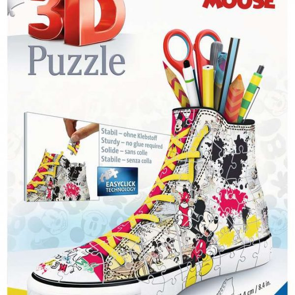 Ravensburger Sneaker Mickey Mouse - 3D puzzel - 108 stukjes