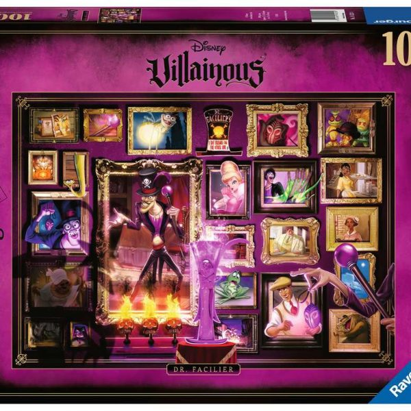 Ravensburger puzzel Villainous:Dr.Facilier - Legpuzzel - 1000 stukjes