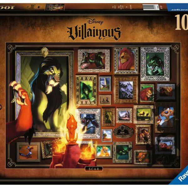 Ravensburger puzzel Villainous: Scar - Legpuzzel - 1000 stukjes