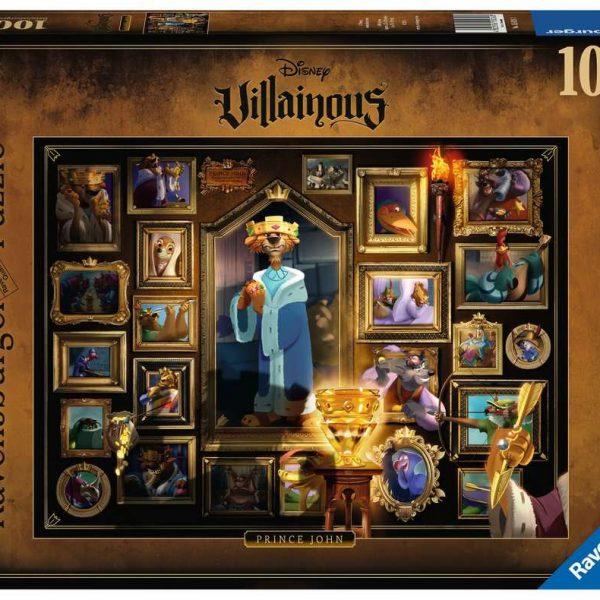 Ravensburger puzzel Villainous: Prince John - Legpuzzel - 1000 stukjes