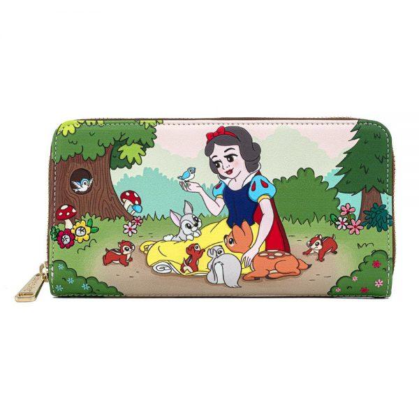 Loungefly Disney Snow White And The Seven Dwarfs Portemonnee – Portemonnee met afbeelding van Sneeuwwitje en de zeven Dwergen