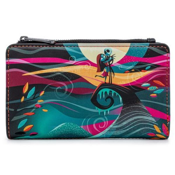 LOUNGEFLY DISNEY NBC SIMPLY MEANT TO BE FLAP WALLET / PORTEMONNEE