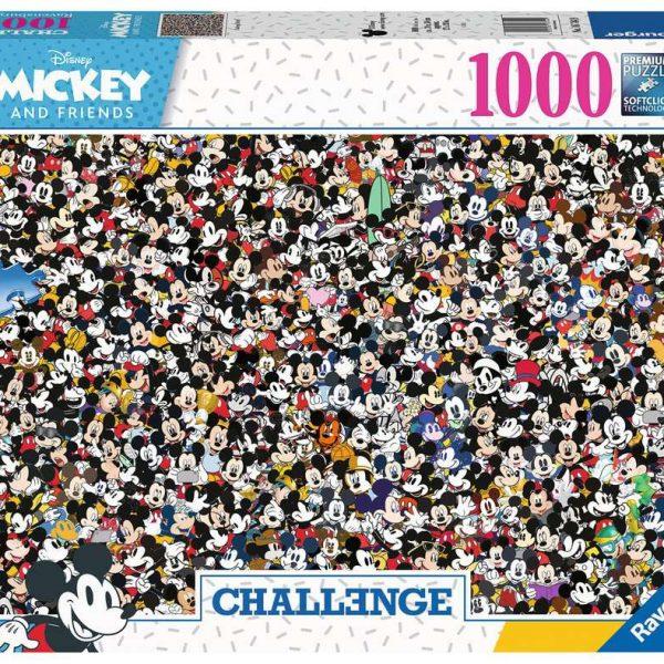 Ravensburger puzzel Challenge Mickey - Legpuzzel - 1000 stukjes