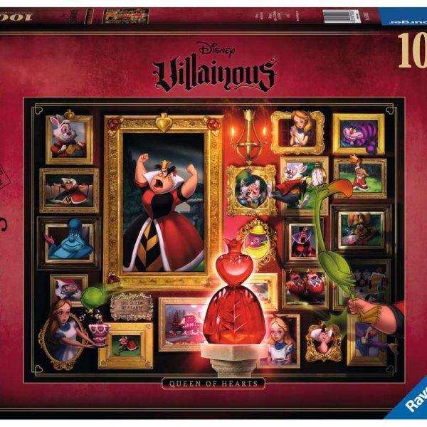 Ravensburger puzzel Villainous:Queen of Hearts - Legpuzzel - 1000 stukjes